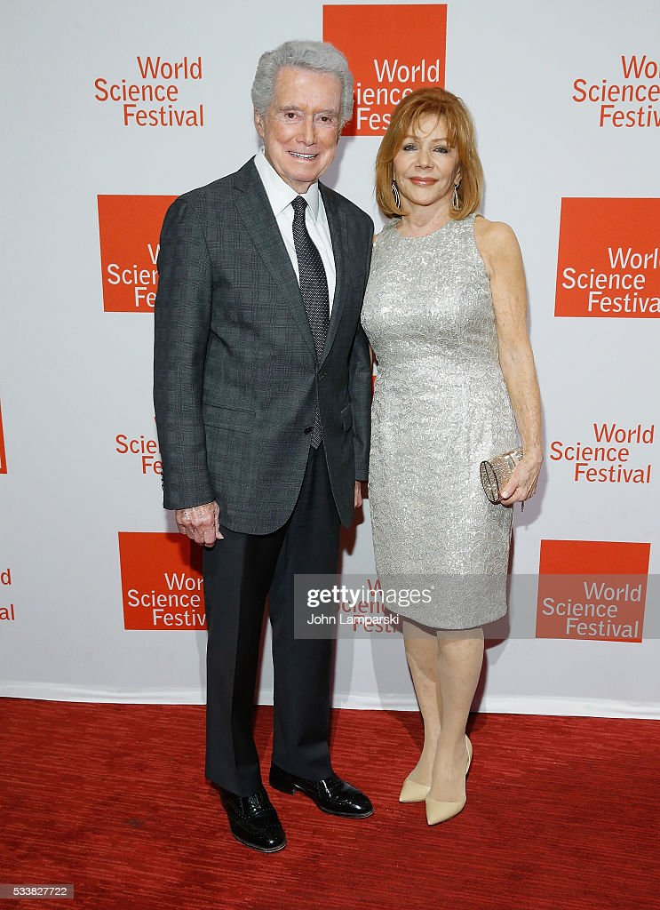 Regis Philbin and Joy Philbin attend The World Science Festival 2016 Gala at Jazz at Lincoln Center on May 23, 2016 in New York City.