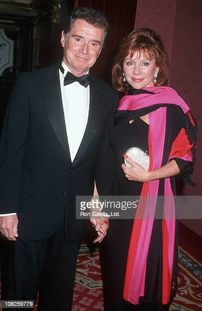 Regis Philbin and Joy Philbin during 12th Annual Alfred P Sloane Memorial Award at Plaza Hotel in New York City New York United States