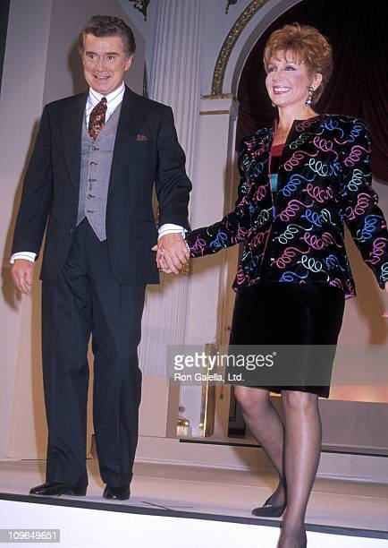Regis Philbin and Joy Philbin during 'Salute to Fashion on TV' Gala April 1990 at Plaza Hotel in New York City New York United States