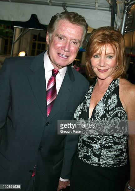 Regis Philbin and Joy Philbin during Sirio Maccioni The Story of My Life and Le Cirque Book Party at Le Cirque 2000 in New York City New York United...