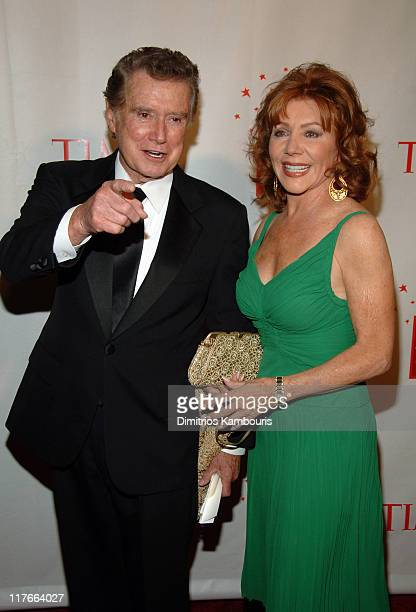 Regis Philbin and Joy Philbin during Time Magazine's 100 Most Influential People 2006 Arrivals at Jazz at Lincoln Center at Time Warner Center in New...