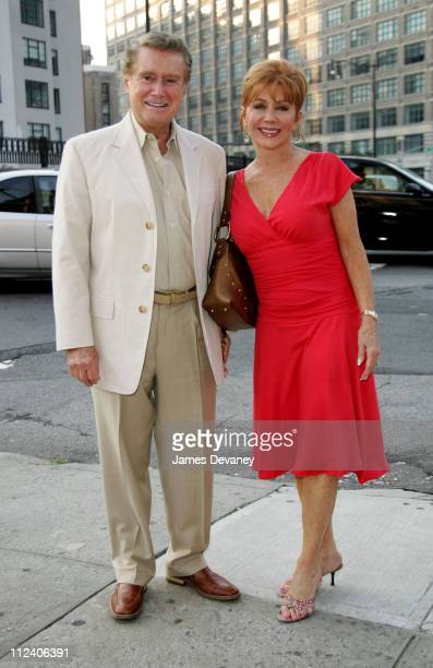 Regis Philbin and Joy Philbin during Tribeca Film Festival World Trade Center'' New York Screening at Tribeca Cinemas in New York City New York...