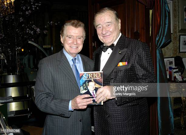 Regis Philbin and Sirio Maccioni of Le Cirque 2000 *Exclusive*
