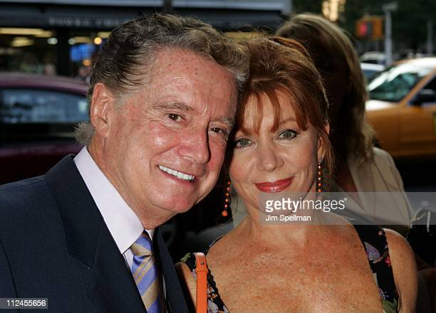 Regis Philbin anf Joy Philbin during The Manchurian Candidate New York Premiere Outside Arrivals at Clearview Cinema's Beekman Theatre in New York...
