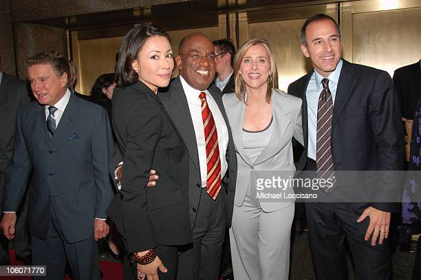 Regis Philbin Ann Curry Al Roker Meredith Vieira and Matt Lauer