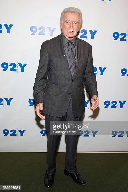 Regis Philbin attends Larry King In Conversation With Regis Philbin at 92nd Street Y on June 13 2016 in New York City