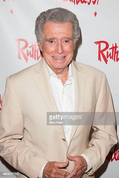 Regis Philbin attends the 'Ruthless The Musical' opening night at St Luke's Theater on July 13 2015 in New York City