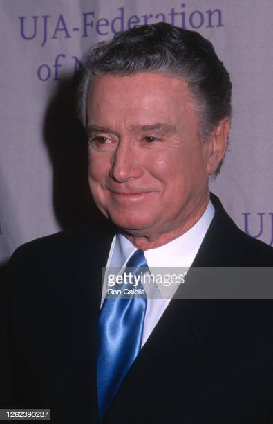 Regis Philbin attends UJA Federation Of New York Gala Honoring Bob Iger at the Waldorf Astoria Hotel in New York City on February 10, 2000.