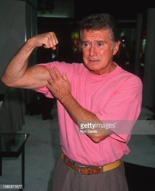 Regis Philbin attends Video Software Dealers Association Convention at the Las Vegas Convention Center in Las Vegas, Nevada on July 24, 1994.