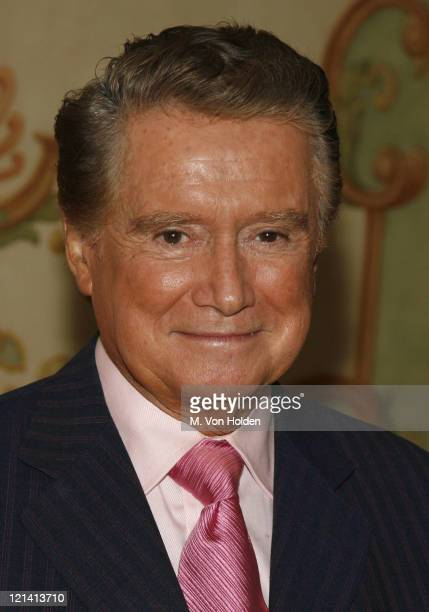 Regis Philbin during 18th Annual Women of the Year Luncheon at The Pierre in New York City New York United States