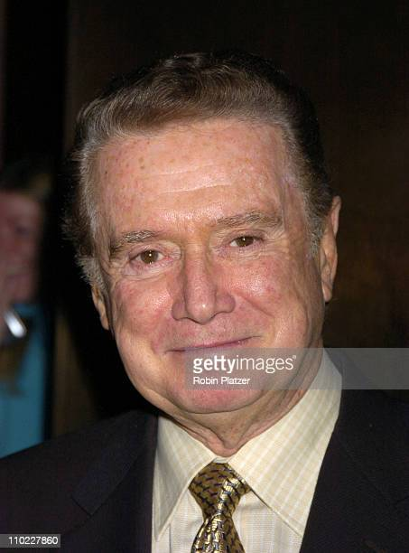 Regis Philbin during Deana Martin Book Party for 'Memories Are Made of This Dean Martin Through His Daughter's Eyes' at The Chambers Hotel in New...