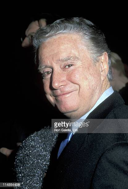 Regis Philbin during 'Diamonds' New York Premiere at Paris Theater in New York City New York United States