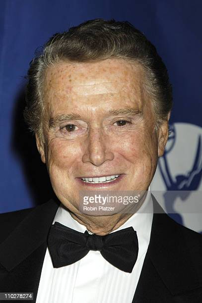 Regis Philbin during Robert Iger Honored by The National Academy at The New York Marriott Marquis Hotel in New York City New York United States
