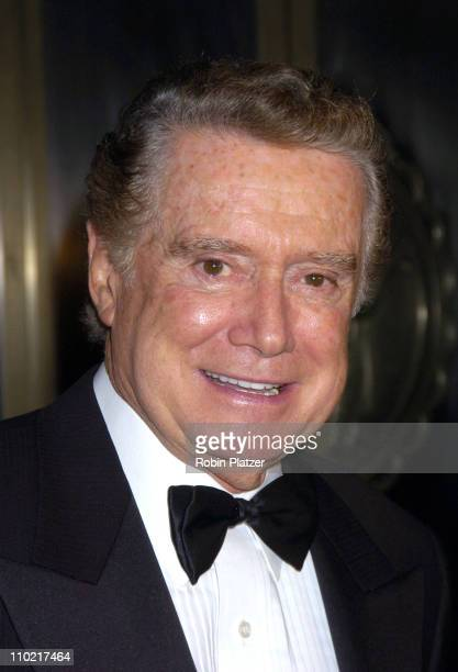 Regis Philbin during The 60th Anniversary Ball of the Year Gala for The Boys Towns of Italy at The Waldorf Astoria Hotel in New York City New York...