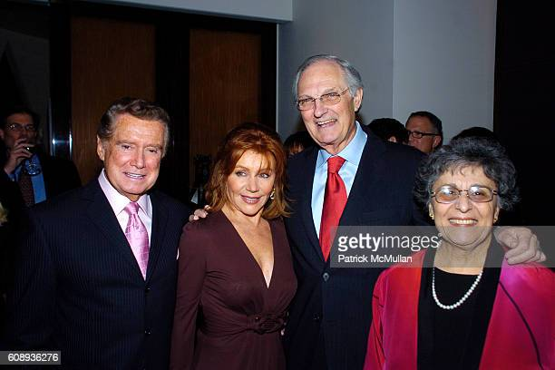 Regis Philbin Joy Philbin Alan Alda and Arlene Alda attend Reception for The Launch of Charles Grodin's Book IF I ONLY KNEW THENLEARNING FROM OUR...