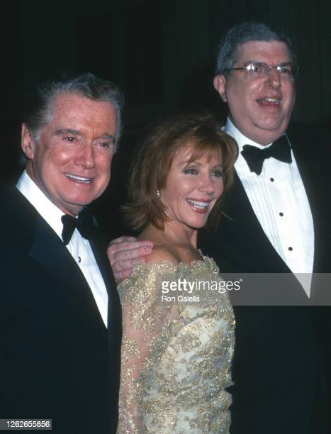 """Regis Philbin, Joy Philbin and Marvin Hamlisch attend """"Sweet Smell Of Success"""" Performance Party at the Waldorf Astoria Hotel in New York City on..."""