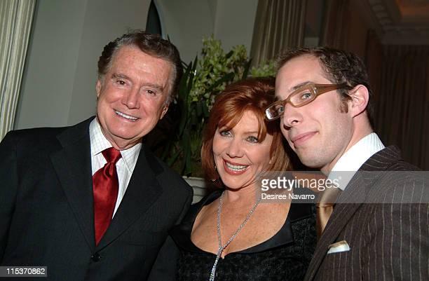 Regis Philbin Joy Philbin and Menachem Senderowicz