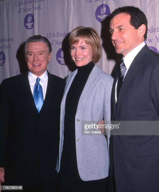 Regis Philbin, Willow Bay and Bob Iger attend UJA Federation Of New York Gala Honoring Bob Iger at the Waldorf Astoria Hotel in New York City on...
