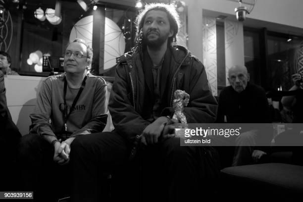 Regisseur Alain Gomis mit dem Silbernen Bären Grosser Preis der Jury für den Film FELICETE zu Gast im RadioEins Berlinale Nighttalk aus der XXLounge...