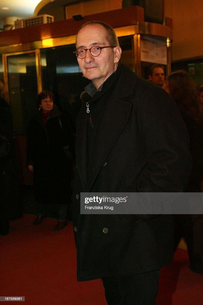 Regisseur Dominik Graf Bei Der Premiere Von Der Rote Kakadu