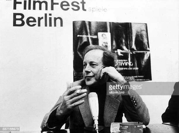 Regisseur; GB, bei den Berliner Filmfestspielen, - 1980Foto: Erika Rabau