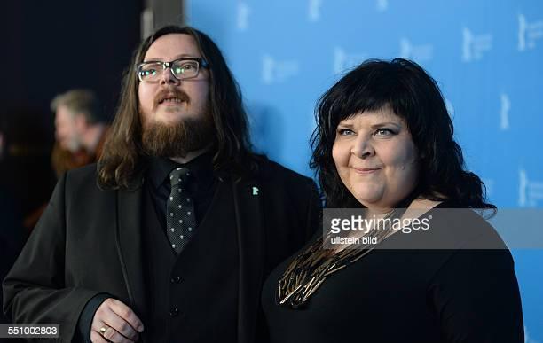 Regisseur Ian Forsyth und Regisseurin Jane Pollard während des Photocalls zum Film 20000 DAYS ON EARTH anlässlich der 64 Internationalen...