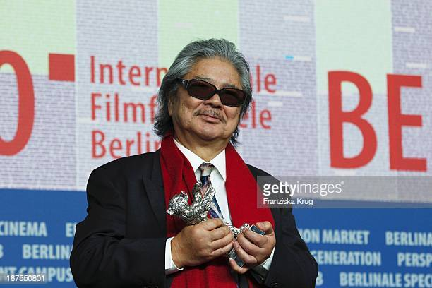 Regisseur Koji Wakamatsu Auf Der Pressekonferenz Der Gewinner Der 60 Berlinale 2010 Im Hotel Hyatt In Berlin Am 20022010 Photo by Franziska...