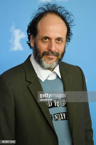Regisseur Luca Guadagnino während des Photocalls zum Film CALL ME BY YOUR NAME anlässlich der 67 Berlinale