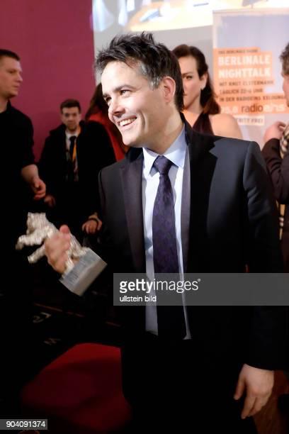 Regisseur Sebastian Lelio mit dem Silbernen Bären für das Beste Drehbuch zum Film A FANTASTIC WOMAN zu Gast im RadioEins Berlinale Nighttalk aus der...