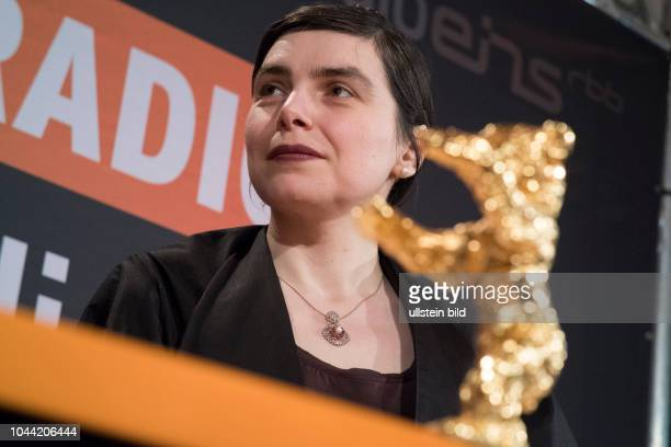 Regisseurin Adina Pintilie beim RadioEins BerlinaleNighttalk aus der XXLounge anlässlich der 68 Internationalen Filmfestspiele Berlin