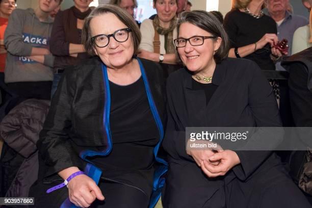 Regisseurin Agnieszka Holland und Tochter zu Gast im RadioEins Berlinale Nighttalk aus der XXLounge anlässlich der 67 Internationalen Filmfestspiele...
