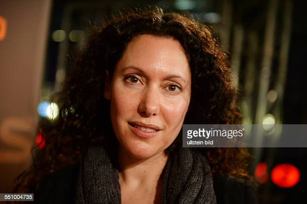 Regisseurin Allison Berg beim RadioEins BerlinaleNighttalk am Rande der 64 Internationalen Filmfestspiele Berlin