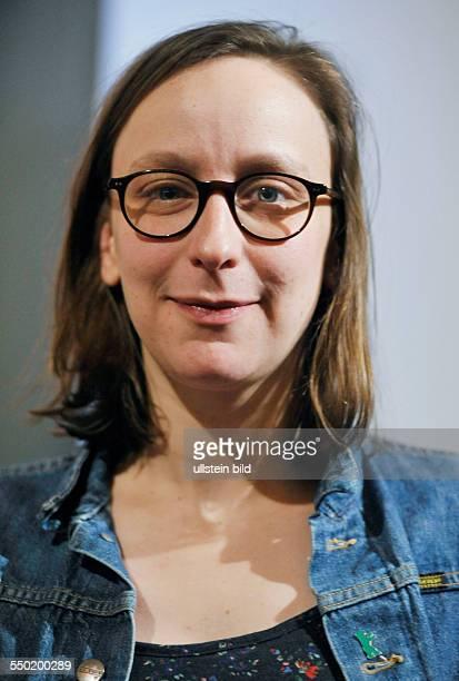 Regisseurin Celine Sciamma beim RadioEins Berlinale Nighttalk am Rande der 61 Internationalen Filmfestspiele in Berlin