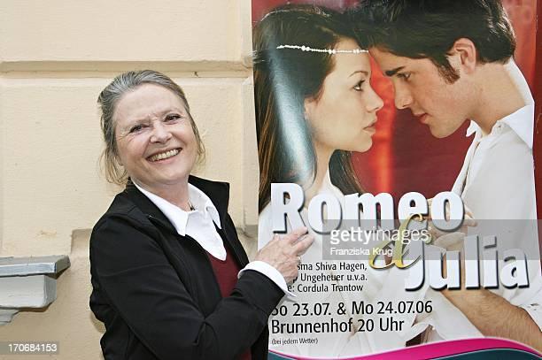 Regisseurin Cordula Trantow Inszeniert Romeo Und Julia Mit CSHagen Im Lustspielhaus In München Am 240506