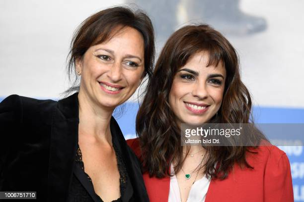 Regisseurin Lais Bodanzky und Schauspielerin Maria Ribeiro während der Pressekonferenz zum Film COMO NOSSOS PAIS/JUST LIKE OUR PARANTS anlässlich der...