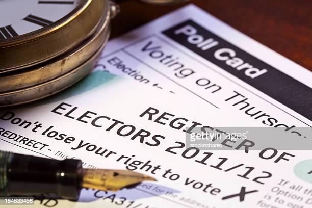登録 Electors の