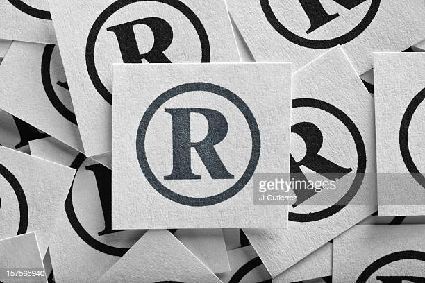 registered mark - intellectual property stock pictures, royalty-free photos & images