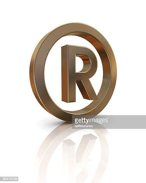 Registrierte Symbol