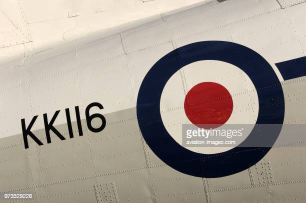 registration and roundel of a Douglas DC3C