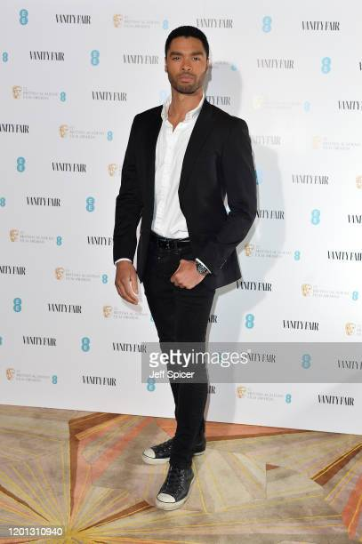 Regé-Jean Page attends the Vanity Fair EE Rising Star BAFTAs Pre Party at The Standard on January 22, 2020 in London, England.