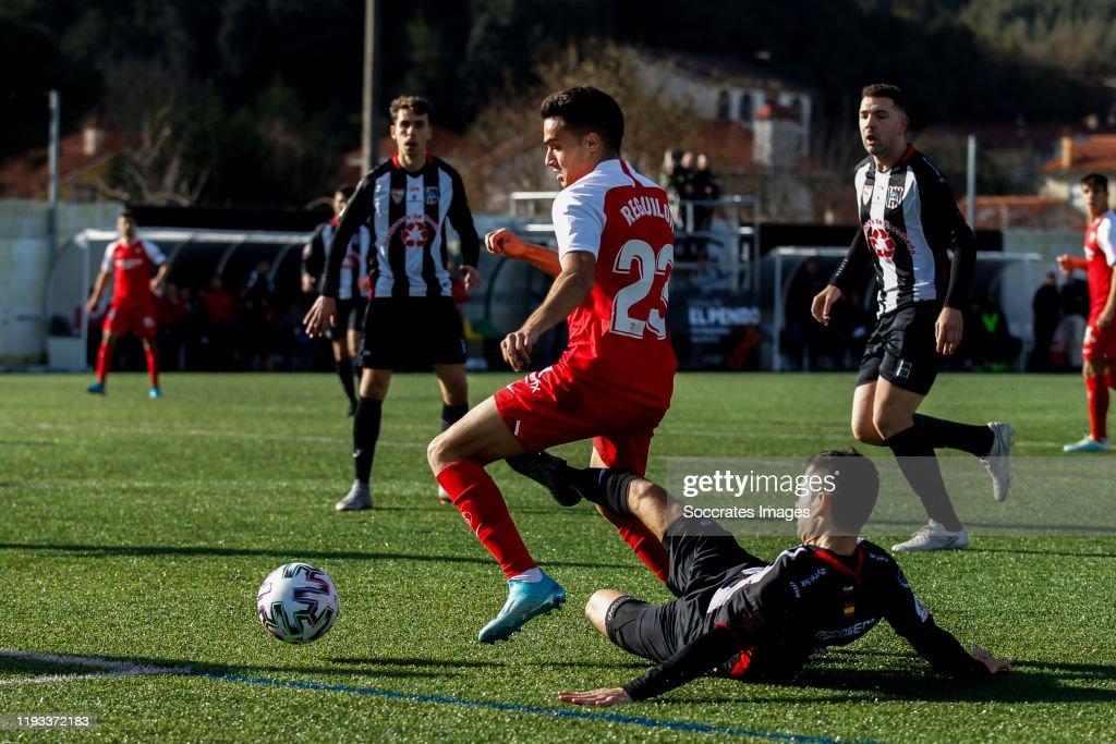 Um Escobedo v Sevilla - Spanish Copa del Rey : News Photo