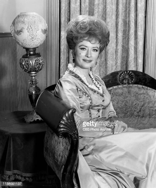 Regular cast members from the CBS television Western series Gunsmoke July 22 1965 Pictured is Amanda Blake