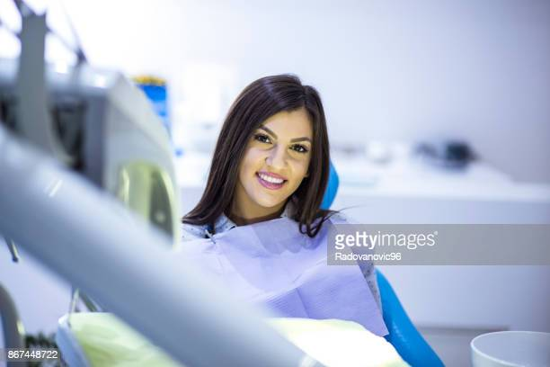 regular dental check-up. - dental fear stock pictures, royalty-free photos & images
