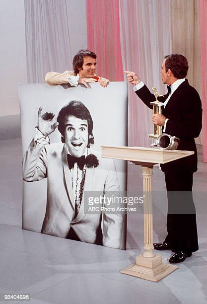 SHOW 7/15/72 Regular Steve Martin and star Ken Berry in a skit from this summer variety series