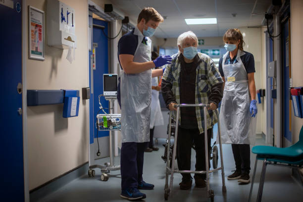 GBR: First Patients Admitted To NHS Seacole Centre