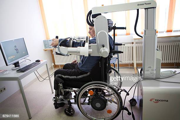 Rehabilitation center in Germany specializing in neurological rehabilitation after a stroke or head injury equipped with robotic technologies to...