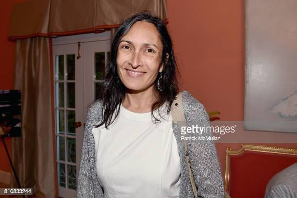 Rehana Farrell attends Katrina and Don Peebles Host NY Mission Society Summer Cocktails at Private Residence on July 7 2017 in Bridgehampton New York