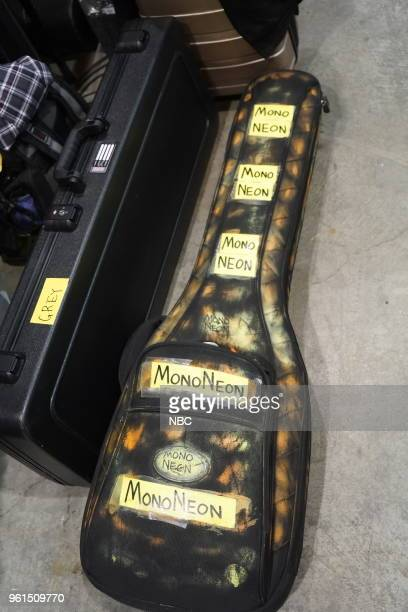 AWARDS Rehearsal 2018 BBMA's at the MGM Grand Las Vegas Nevada Pictured Artist guitar