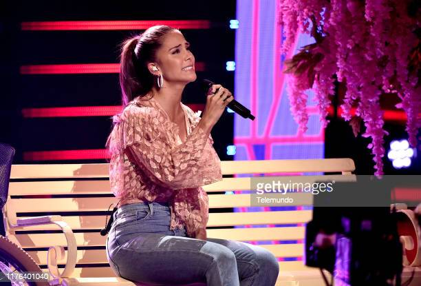 AWARDS Rehearsal Pictured Greeicy rehearses for the 2019 Latin American Music Awards at the Dolby Theatre in Hollywood CA on October 15 2019