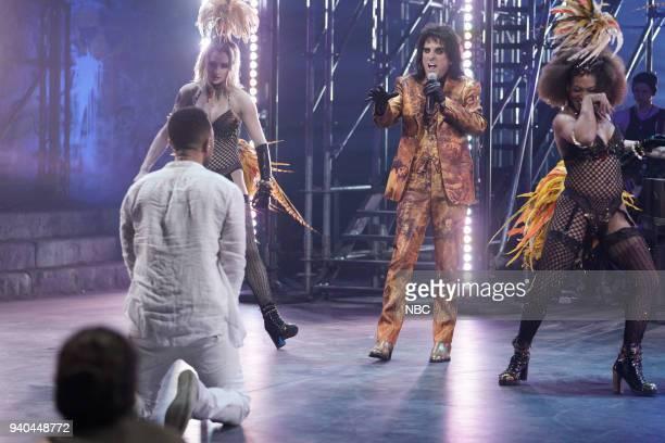 John Legend as Jesus Alice Cooper as King Herod